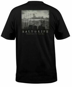 Mens Salt Life Another Day Graphic Short Sleeve T-Shirt - XL & Large - NWT