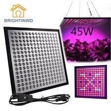 45W Led Plant Grow Light 225 LEDs Growing Panel Lights Full Spectrum Plant Light