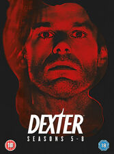 Dexter: Seasons 5-8 DVD (2016) Michael C. Hall ***NEW***