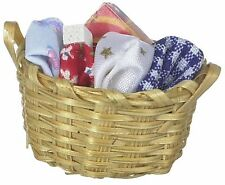 Dollhouse Miniature - Laundry Basket with Detergent   1:12 Scale