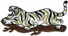 """4"""" Safari Jungle Tiger Embroidery Patch"""