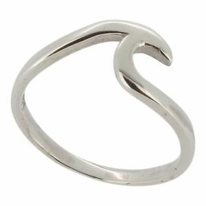 Sterling Silver Wave Design Ring by Touch Jewellery - 925 - Choose Your Size