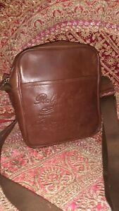 Polo Ralph Lauren Heritage Two Tone Leather Messenger bag small