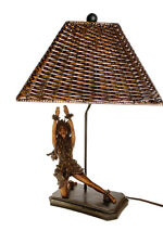 KIM TAYLOR REECE KILA KILA Hawaiian Dancing Hula Girl TABLE LAMP Light