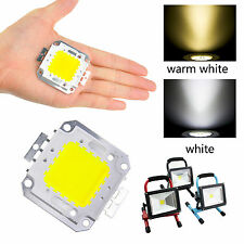 Hot 1X/10X 10W 100W Cool/Warm White High Power SMD Led Chip Flood Light Bead DS