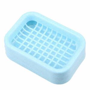 Soap Storage Box Water Draining Dish Bathroom Shower Holder Case Drainer Home