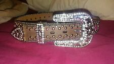 Cowgirl bling belt