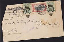 O) 1927 MEXICO, SERVICIO AMBULANTE, COLUMBUS 4 CENTAVOS GREEN-SCOTT A82, MOTORCY