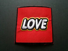 Love Sew or Iron On Patch