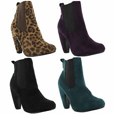Unbranded Women's Ankle High Heel (3-4.5 in.) Boots