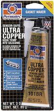 PERMATEX ULTRA COPPER SILICONE GASKET SEALANT 3 OZ 81878 - 59-9192