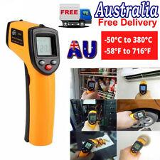 Digital Infrared Thermometer Handheld Temperature Gun Un-contact IR Laser Point