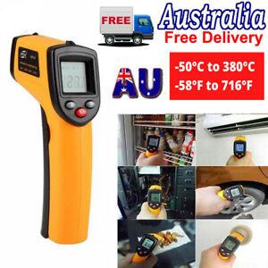 Digital Infrared Thermometer Handheld Temperature Gun No-Contact IR Laser Point