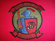 """US Marine Medium Helicopter Squadron HMM-365 """"BLUE KNIGHTS"""" Vietnam War Patch"""