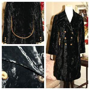 Vintage Velvet Willa Bow Glided Gold Black