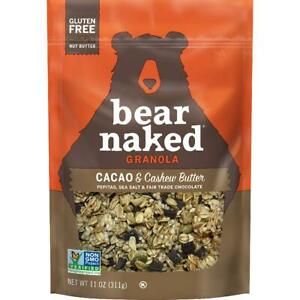 Bear Naked Granola, Cacao and Cashew Butter, Vegan and Gluten Free, 11oz