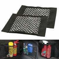 Car Auto Back Seat Trunk Black Storage Nylon Net Mesh Bags Organizers Accessory