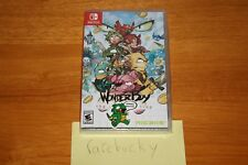 Wonder Boy: The Dragon's Trap Launch Edition w/Extras (Switch) NEW SEALED MINT