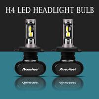 Pair H4/ HB2/ 9003 1700W 255000LM LED Headlight Bulbs 6500K Fog Lamp Hi/Low Beam