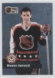 1991-92 Pro Set French Denis Savard #305 HOF