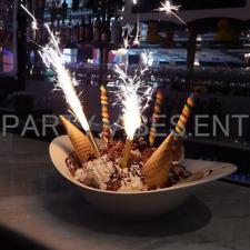 120 SparklingCake Wedding Bottle Service Sparklers Candles Club Birthday PURPLE