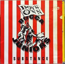"""Bocca Juniors - Substance V12"""" G+ Boix 5 Vinyl 1991 UK House Leftfield"""