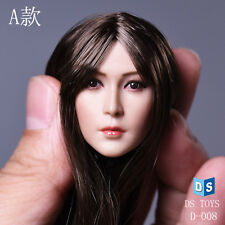 """DSTOYS D-OO8-A 1/6 Asian Beauty Rooted Long Hair Head Model F 12"""" Female Body"""