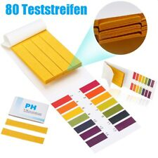pH Wert Teststreifen Lackmus Indikator Papier für Wasser Pool Teich Urin Tester