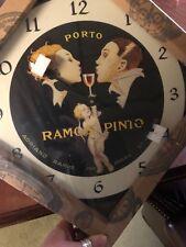 "Vintage  Style "" Porto Ramos - Pinto "" 15"" Inch Clock NIB"