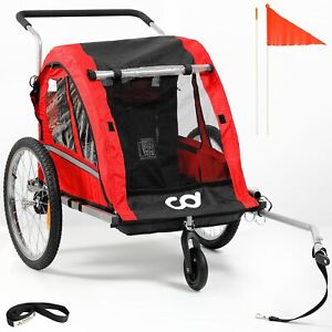 CyclingDeal Foldable Bicycle Bike Baby Children Kids Trailer and Stroller Jogger