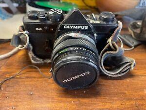 Vintage Olympus OM-2 35mm Film Camera With Lens
