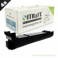 4x MWT Eco Cartucho Negro Para Epson Aculaser CX-28-DN