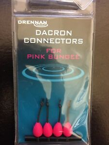 DRENNAN FISHING DACRON CONNECTORS for all BUNGEE - POLE ACCESSORIES