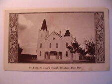 Evangelical Lutheran St John's Church in Richland PA OLD