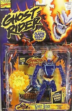 "Ghost Rider Series 2  - ""Exploding"" Ghost Rider with Comic Book Toy Biz 1996 MOC"