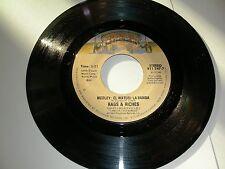 Disco 45 Rags & Riches Medley El Watusi / La Bamba  Casablanca  NM 1983