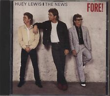 HUEY LEWIS & THE NEWS - Fore! - CD GERMANY 1986 NEAR MINT CONDITION 11 TRACKS