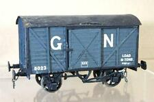 G G1 GAUGE 1 KIT BUILT GN 10 TON EXTERNAL FRAME CLOSED VAN WAGON 5023 NICE ei