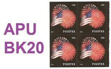 US 4855 Star-Spangled Banner forever block APU MNH 2014