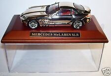 IXO MODEL CHROME DORE ARGENT SOCLE BOIS 1/43 BOX MERCEDES MC LAREN SLR occasion