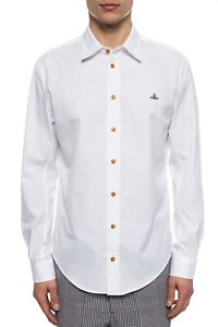 Vivienne Westwood Long Sleeve Shirt White 100% Authentic