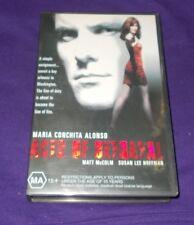 ACTS OF BETRAYAL VHS PAL MARIA CONCHITA ALONSO  1997
