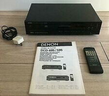 DENON PCM AUDIO TECHNOLOGY STEREO CD COMPACT DISC PLAYER DCD-695