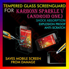 ACM-TEMPERED GLASS SCREENGUARD for KARBONN SPARKLE V (ANDROID ONE) SCRATCH NEW