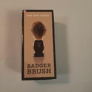 "Van Der Hagen new Shave Brush 100% natural Boar Bristle 'WC2"""