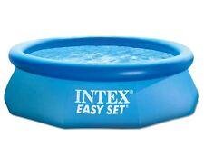 intex easy set pool 244x 76 inkl. Abdeckung