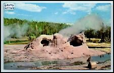 Yellowstone National Park Postcard - Grotto Geyser G15