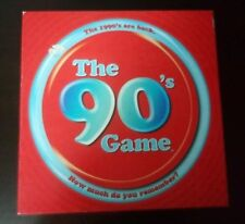 The 90's Game - complete game - 2 to 5 players - for ages 15 and up - pre owned