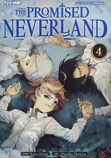 THE PROMISED NEVERLAND 4 - MANGA J POP - ITALIANO - NUOVO