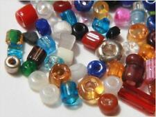 Lot (1000+) Czech vintage mixed seed bugle glass beads